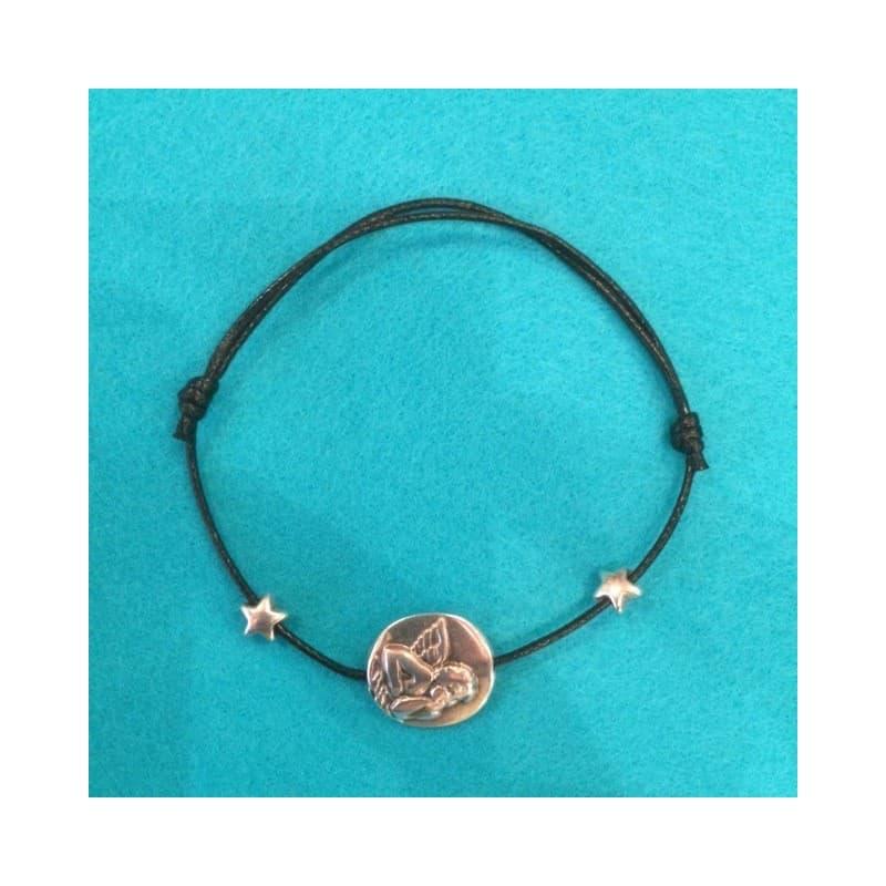 Le Bracelet ange deux etoiles