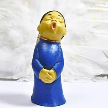 Choriste Robe Bleu Mains...
