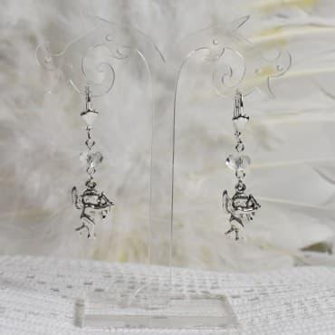 Boucles d' Oreilles Cupidon