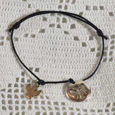 Bracelet Love Love 2 Argenté