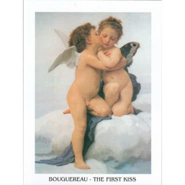 Bouguereau - The First Kiss 24 x 30 cm