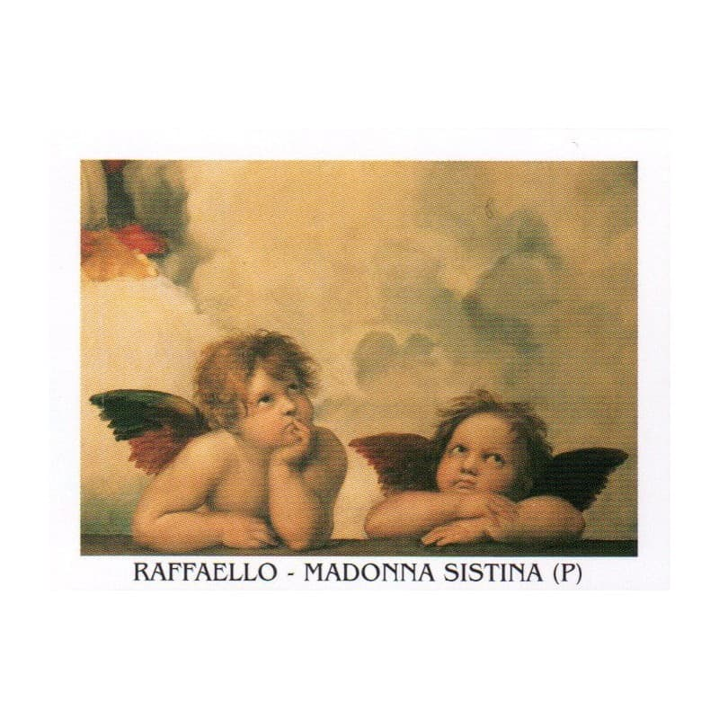 Raffaello - Madonna Sistina 24 x 30 cm