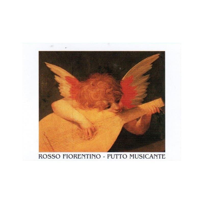 ROSSO FIORENTINO - Putto Musicante 35x50 cm