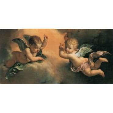 Guercino - S. Margherita da Cortona 50 x 100