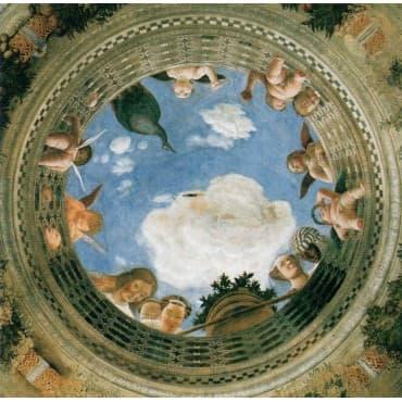 Mantegna - Camera Degli Sposi 95 x 95 cm