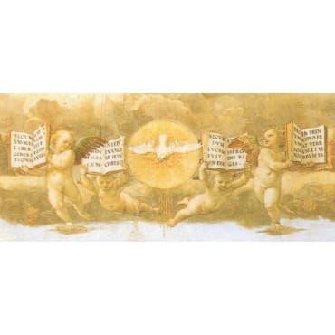 Raffaello - Disputta dell' eucaristia 100 x 50 cm