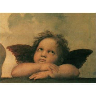 Raffaello - Madonna Sistina Droit 35 x 50 cm