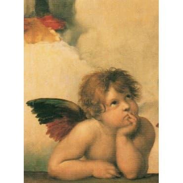Raffaello - Madonna Sistina Gauche 35 x 50 cm
