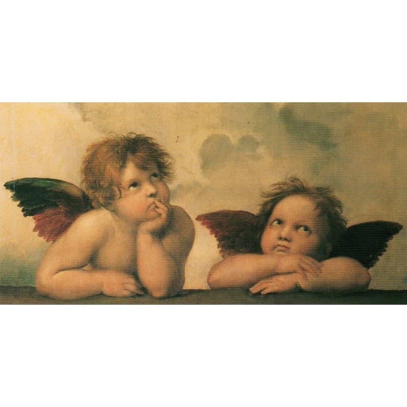 Raffaello - Madonna Sistina 50 x 100 cm