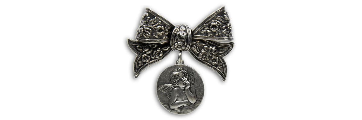 Broche Ange - La Boutique des Anges - Ange en broche