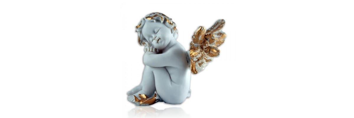 Anges blancs dorés à la main • La Boutique des Anges • Vente d'anges