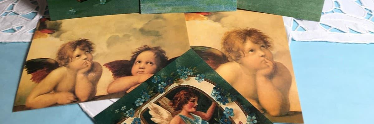Carte Postale Ange - Affiche Ange - La Boutique des Anges - Vente d' ange