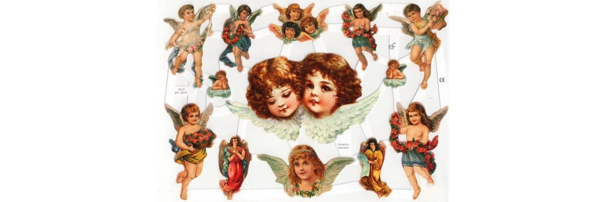 Chromos anges - La Boutique des Anges