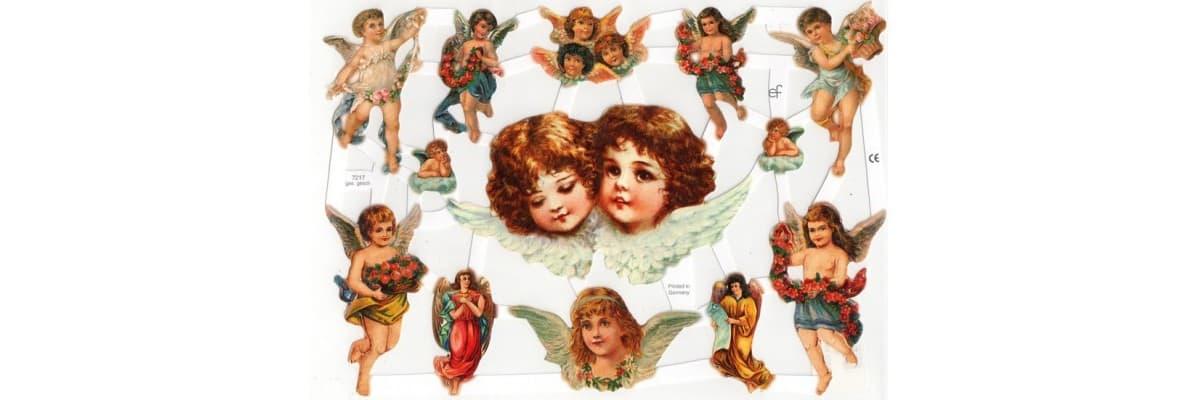 Chromos anges • La Boutique des Anges • Vente d'anges