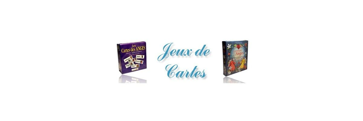 Jeux de cartes anges - La Boutique des Anges